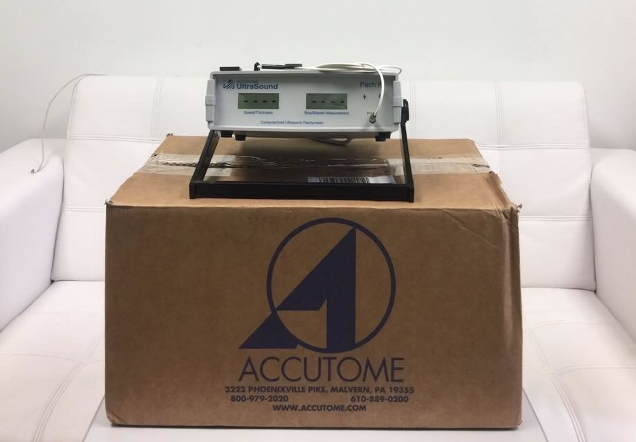 ACCUTOME ULTRASONIC PATCHYMETER